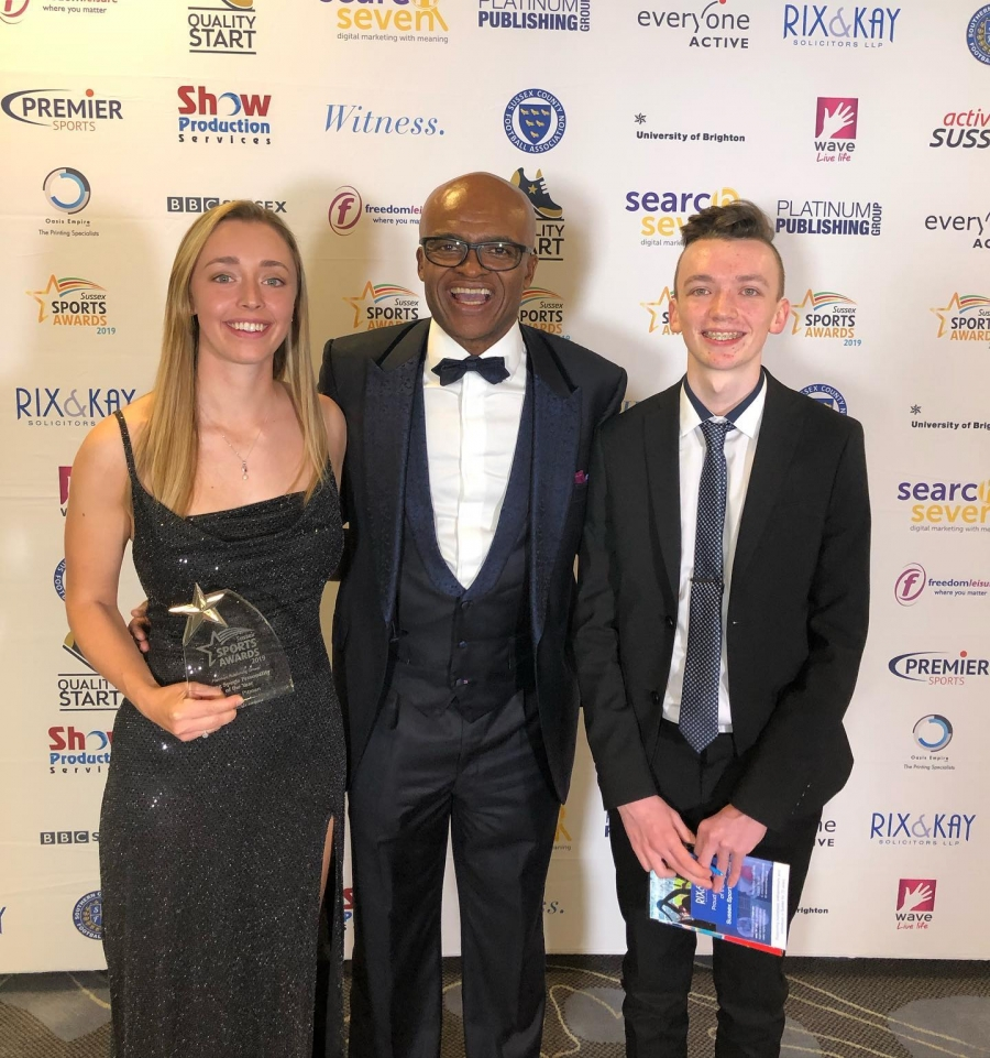 Bryony Pitman Wins Young Sports Personality of The Year 2019